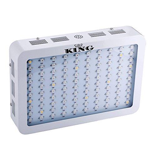 King 300w full spectrum 360 870nm led grow light panel for Indoor gardening led